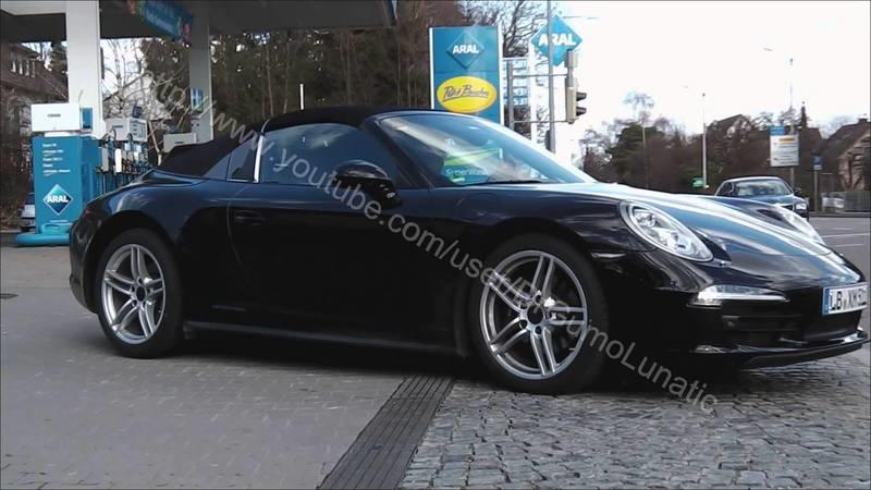 Video: New Porsche 911 Targa Caught Testing With its Fake Soft Top