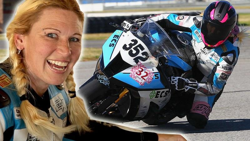 Video: Krystyna Kubran is Blazing Trails in Motorcycle Racing