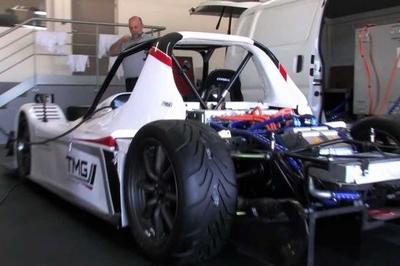 2012 Toyota EV P002 Electric Pikes Peak Race Car