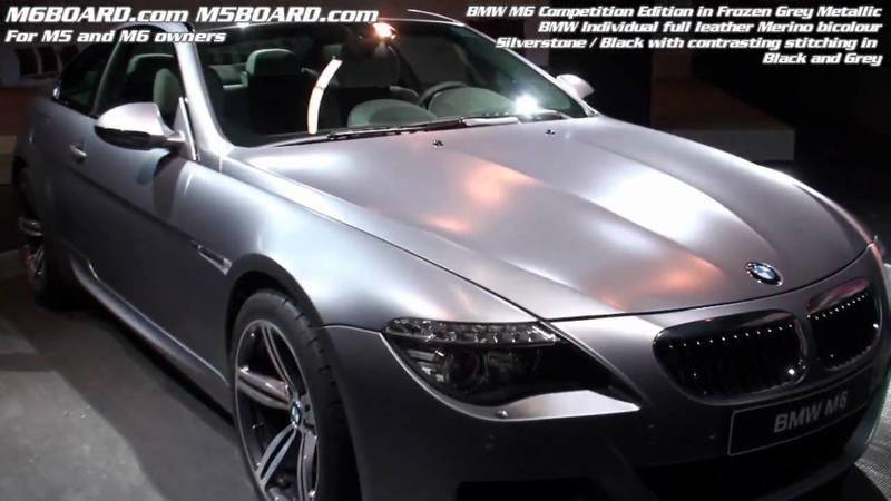 2009 BMW M6 Competition Limited Edition