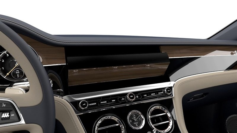 Bentley's Rotating Display in the Continental GT Will have you Feeling Like James Bond!