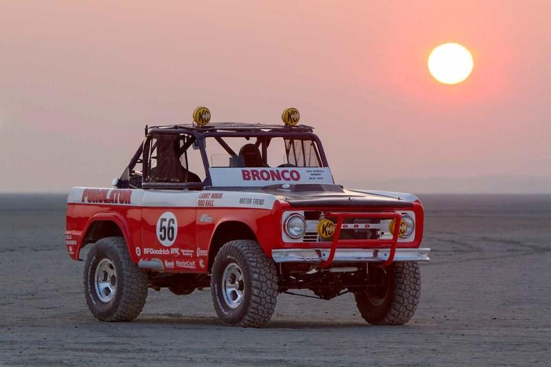 Rod Hall Preps for his 50th Baja 1000 run with Restored Bronco: Video
