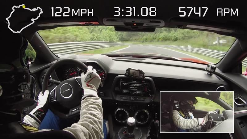 Chevrolet Camaro ZL1 Hits Nurburgring, Sets New Camaro Record