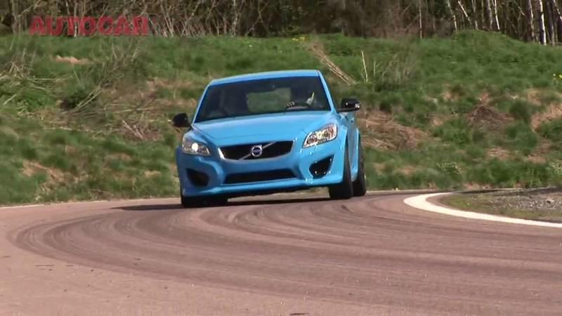 Autocar takes a look at the Volvo C30 Polestar concept