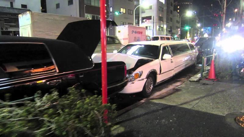 Red Carpet Car Crash: Ferrari California Vs. Two Limos