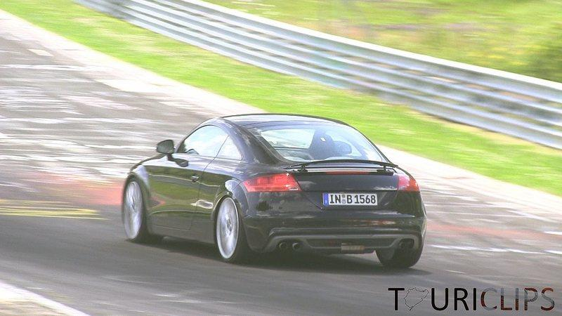 Video: Audi TT-RS Caught Testing on the Nurburgring