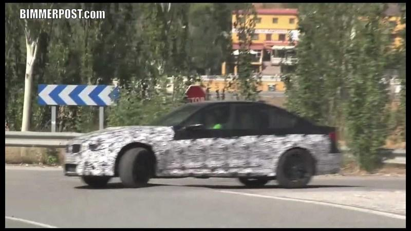 Video: 2014 BMW M3 caught during hot weather testing