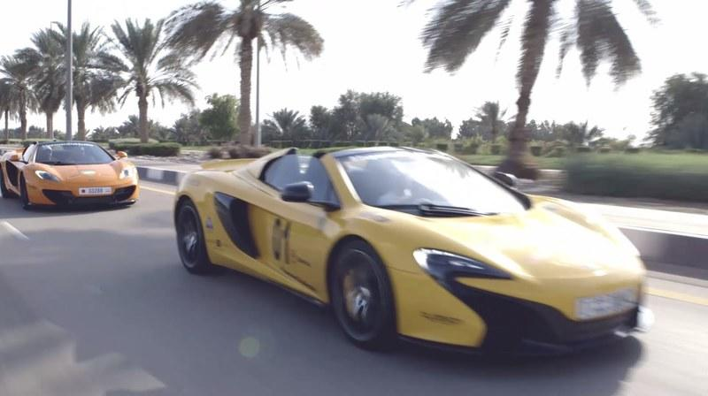 McLaren Explores The Arabian Peninsula In New 'Desert Run': Video