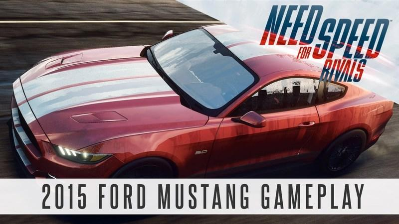 Video: 2015 Ford Mustang Makes its Way to Need for Speed Rivals