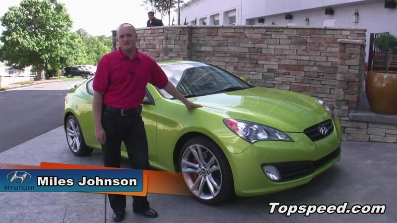 2010 Hyundai Genesis Coupe Introduction with Miles Johnson