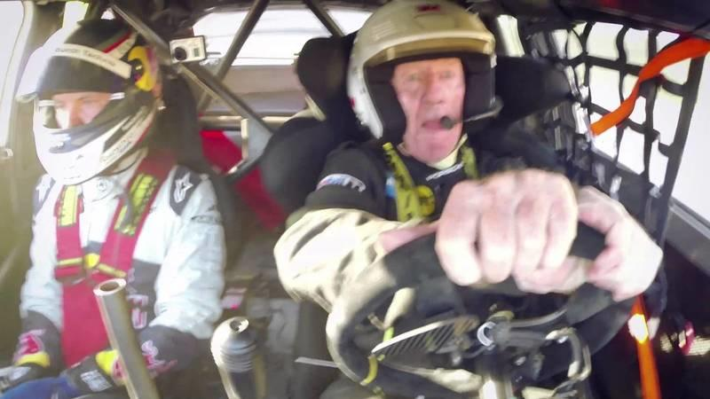 Walter Röhrl and Mattias Ekström Flog an Audi S1 EKS RX: Video