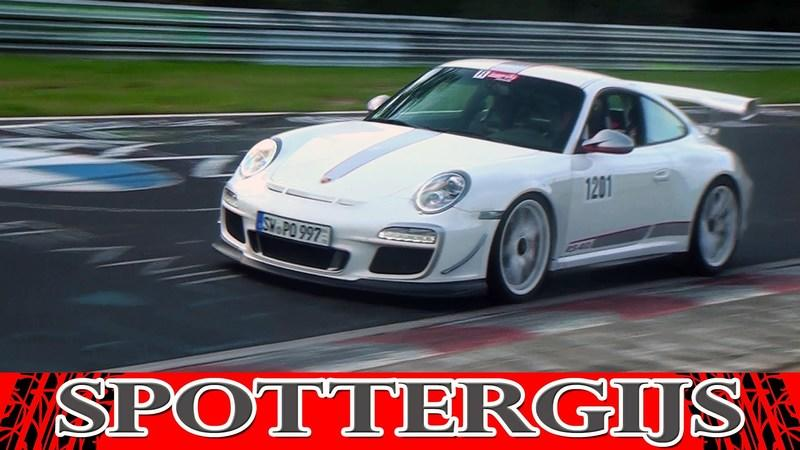 Video: Three Porsche 997 GT3 RS 4.0 models testing at the Nurburgring