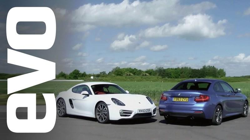 Video: Porsche Cayman Vs. BMW M235i