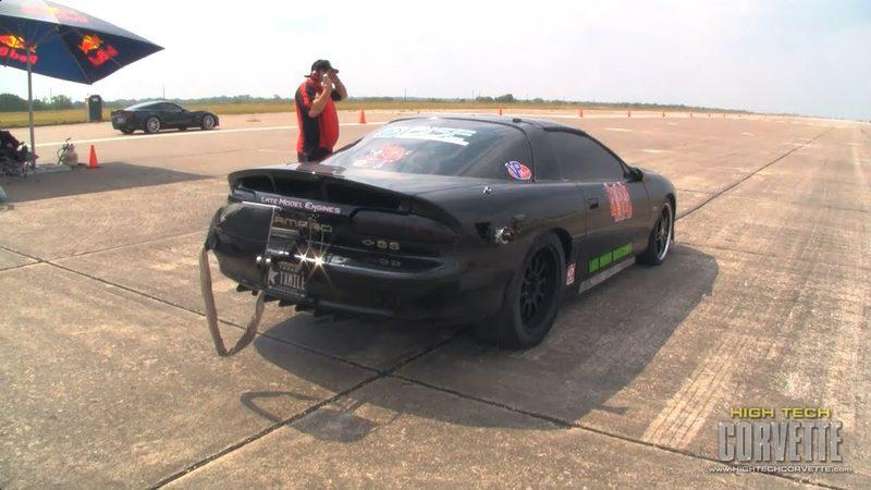Video: Chevrolet Camaro drifts at 244 mph at Texas Mile