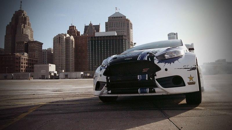 Video: Ford Fiesta ST GTC Rally Car Goes Rallying In Detroit