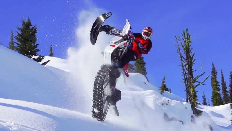 Video: Ronnie Renner Shows Us What Snow Biking Is All About