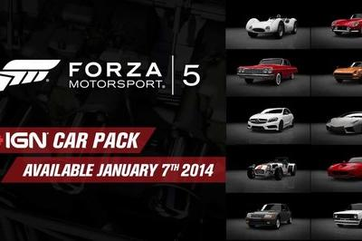 Turn 10 Studios Drops a New IGN Pack for Forza 5