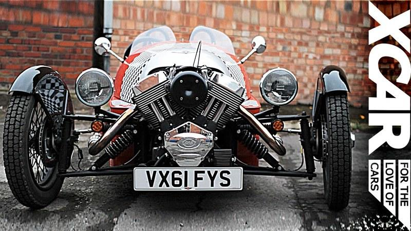 Video: XCar reviews the Morgan 3 Wheeler