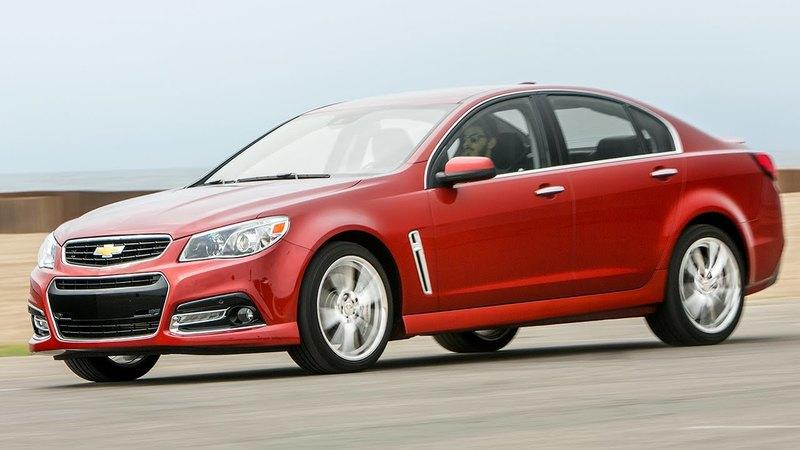 Motor Trend Reviews the 2016 Chevy SS: Video