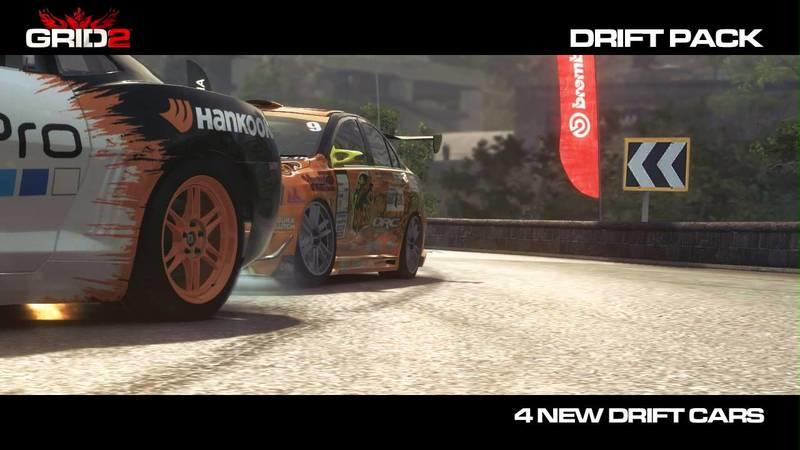 Video: GRID 2 Gets a New Drift Pack