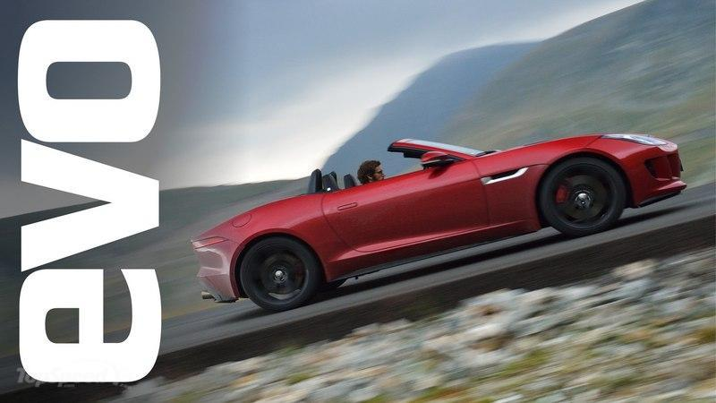 Video: Jaguar F-Type Tested On Romania's Transfagarasan And Transalpina Roads
