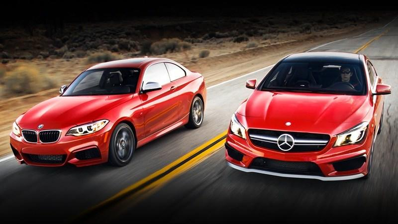 Video: BMW M235i vs Mercedes-Benz CLA45 AMG