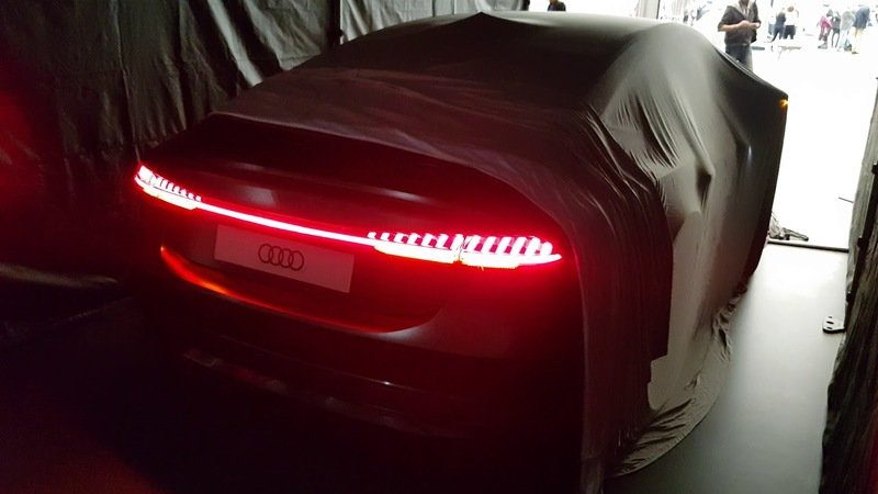 Video: Audi A7 Tailights Leak Hours Before Debut