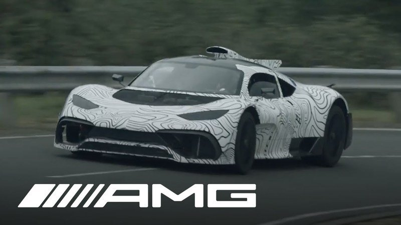 Merc Officially Names New Hypercar Mercedes-AMG ONE