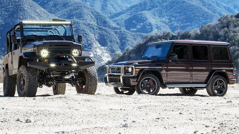 Motor Trend Pits the Mercedes G65 Against Icon's FJ44 Prototype