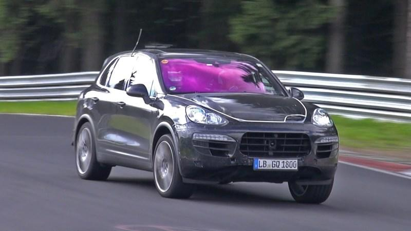 Video: Porsche Cayenne GTS Gets Some Works on the Nurburgring