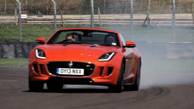 Video: Chris Harris Tests the Jaguar F-Type V8 S, Aston Martin V8 Vantage Roadster and Porsche 911 S Convertible