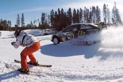 Video: Ken Block and GoPro Hit the Slopes in Russia