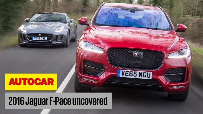 Get The Lowdown On The Jaguar F-Pace: Video