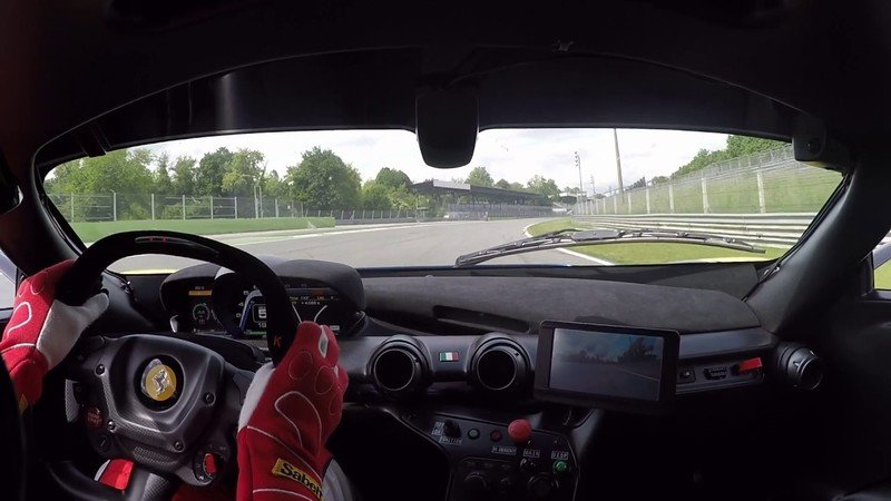 Ferrari FXX K Takes the Monza Track by Storm: Video