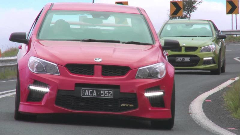Chris Harris Reviews the HSV Maloo GTS: Video