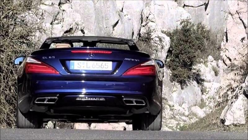 Video: More Teasing of the 2013 Mercedes-Benz SL65 AMG
