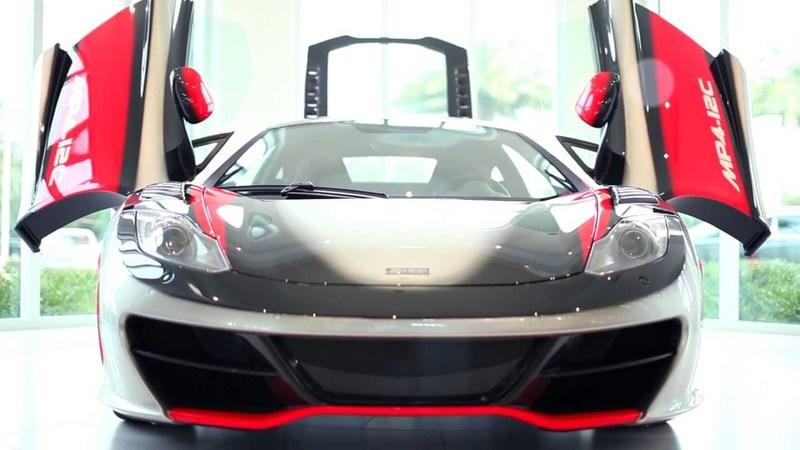 Video: McLaren MP4-12C High Sport spotted in Florida