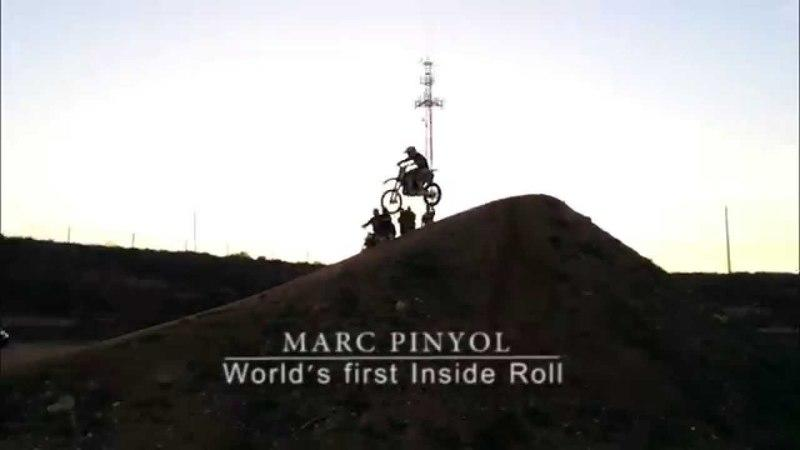 Video: FMX Rider Marc Pinyol Performs World's First Inside Roll