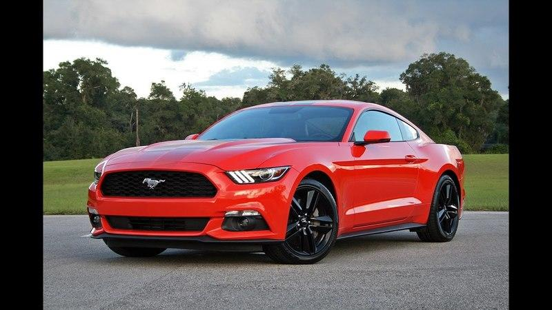 2016 Ford Mustang EcoBoost – Driven
