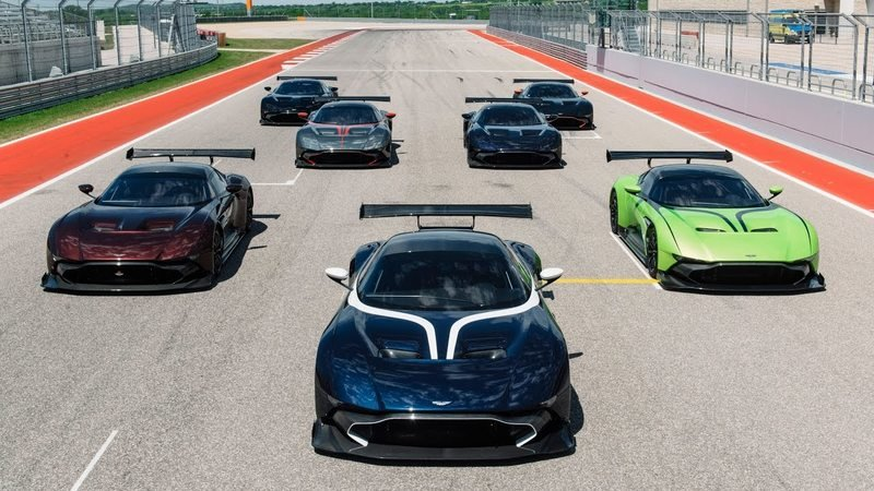 Seeing Seven Aston Martin Vulcans All Together Is Too Much For Our Sensibilities: Video