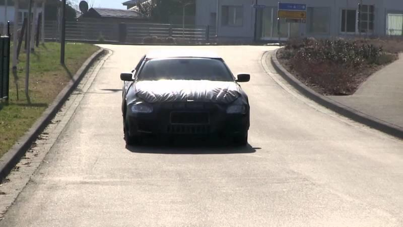 2014 Maserati Quattroporte Spied Near The Nurburgring