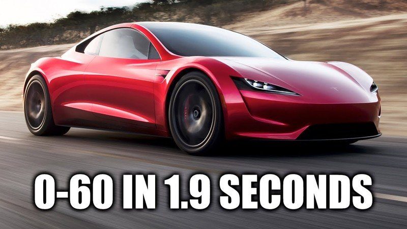 Elon Musk Claims The Tesla Roadster Can Go From 0 to 60 Mph in 1.9 Seconds?