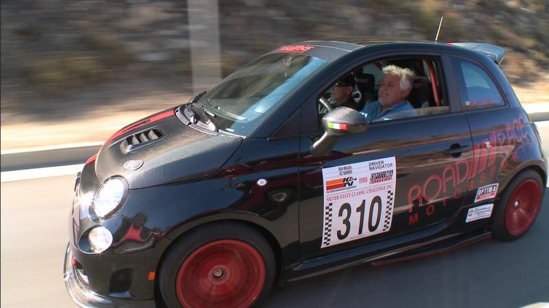 Video: Jay Leno Reviews a Pair of 500 Abarth Racecars