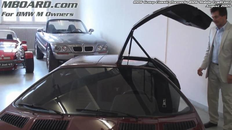 Video: A 10-minute tour of BMW's Motorsport Warehouse