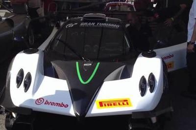 Pagani Zonda R Evolution makes official debut at Goodwood 2012