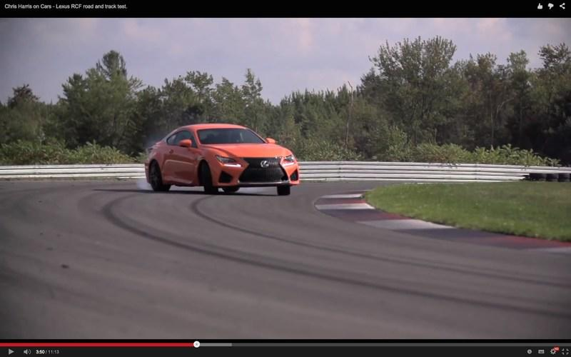 Chris Harris Gives the RC-F a Flogging on the Road and Track: Video