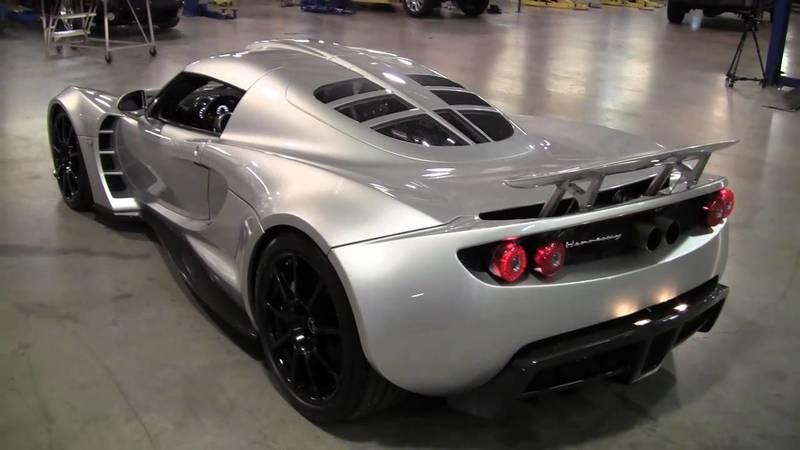 Video: Hennessey Venom GT Goes Full Power