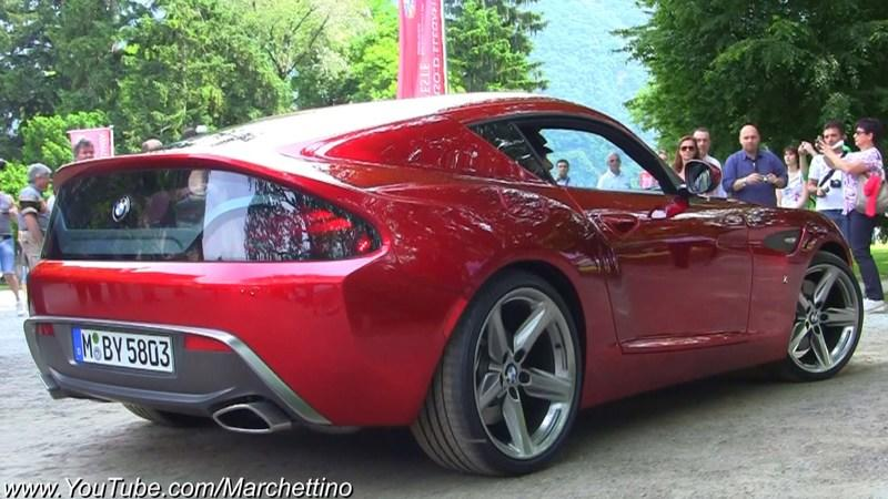 Video: BMW Zagato Coupe opened up at Concorso d'Eleganza Villa d'Este