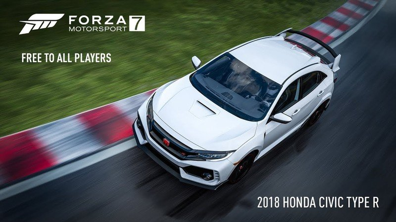 You Can Get a Civic Type R for Free – If You Play Forza 7
