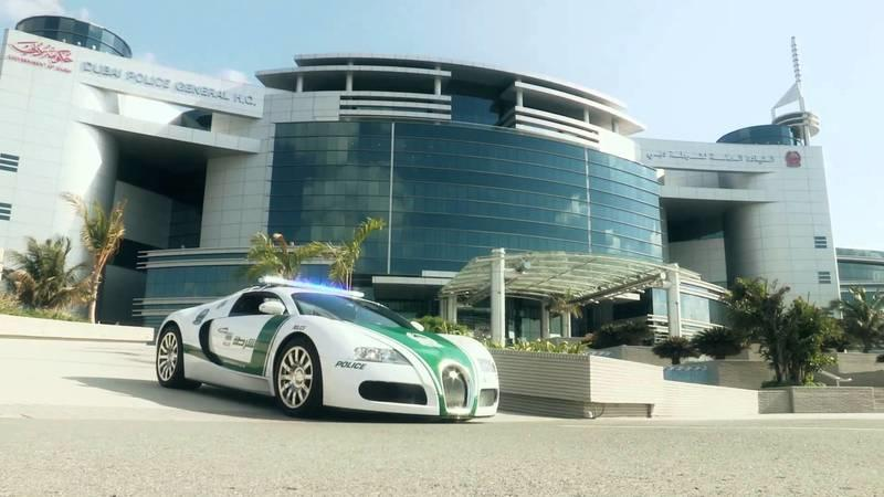 Video: Dubai Police's Bugatti Veyron is Now a Reality